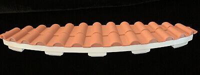 2006 Barbie Dream House Terra-Cotta Roof Over The Front Door Replacement Part