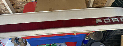 1987- 96 Ford F150 Tailgate Panel F250 F350 factory Trim Red Reflector W Bracket