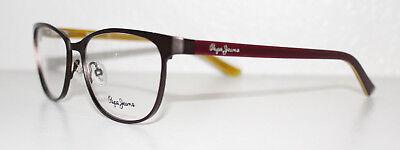 PEPE JEANS PJ1255 ARIA C6 BROWN New Cats Eye Optical Eyeglass Frame For Women