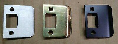 Polished Brass Strike Plate - Extended Lip Strike Plate 2