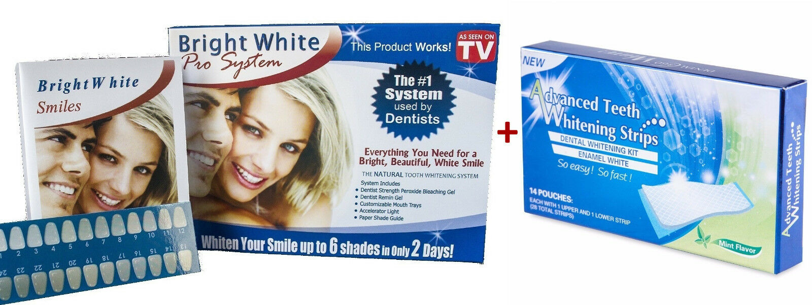impressive bright white smile teeth whitening kit advanced