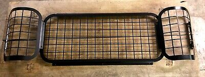 Rear Window Mesh Guards Protection Land Rover 90 110 Pickup Defender Double