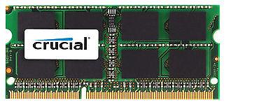 Crucial 8Gb Ddr3l 1333 Mhz Pc3 10600 Sodimm Memory Apple Mac Book Pro Ddr3