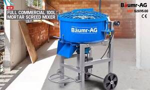 1500W -  100L Concrete Mixer Mortar Screed  Cement  Sydney City Inner Sydney Preview