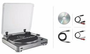 Table tournante audio et USB Audio-technica ATLP60USB