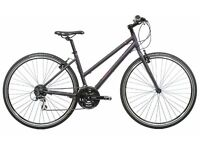 Raleigh Strada 2 (2016) Womens / Ladies Hybrid Town Commuter Bike / Bicycle - Practically Brand New