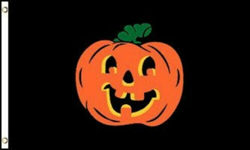 Halloween Pumpkin Flag Holiday Decoration Banner Party Pennant New Outdoor 3x5