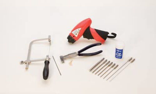EuroTool Coil Holding and Cutting Kit with DVD Jewelry Art Craft Tool