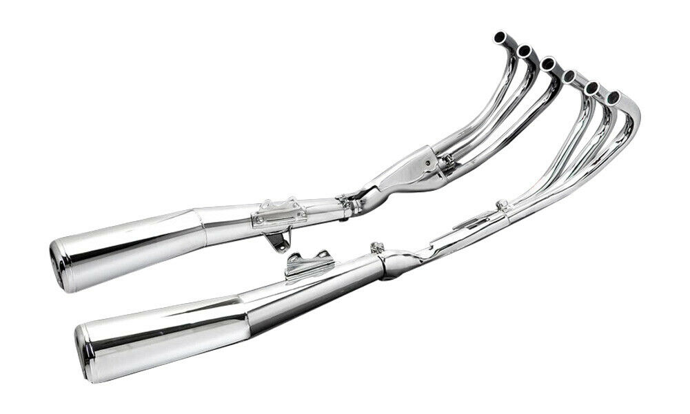 Pro Link Full Chrome Exhaust System 1981 1982 CBX1000