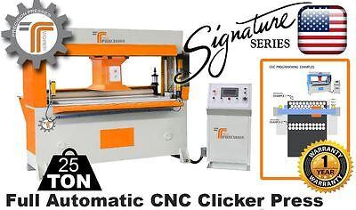 New Cjrtec 25 Ton Traveling Head Clicker Press Full Automatic Cnc