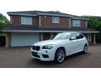 BMW X1 XDRIVE18D M SPORT (white) 2013