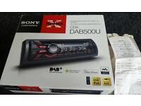 Sony cdx-dab500u car stereo
