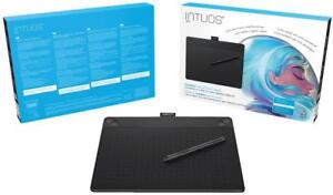 NEW Wacom Intuos Creative Pen & Touch Tablet (Medium) - USB Interface - CTH690AK, CTH-690