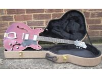 Hagstrom Viking Semi Acoustic Guitar. Beautiful & Hard Cased - Cost Over £650