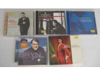 JOBL LOT. 5 BRYN TERFEL CD ALBUMS