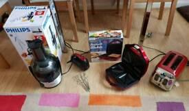 Philips Viva juicer /sandwich maker/ toaster/mixer