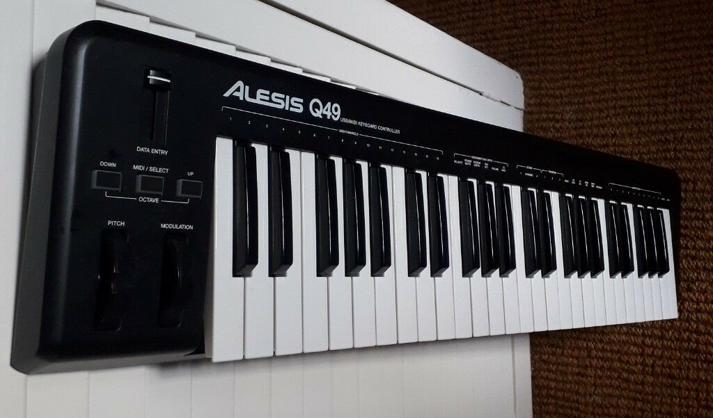 alesis q49 midi keyboard controller in winchester hampshire gumtree. Black Bedroom Furniture Sets. Home Design Ideas