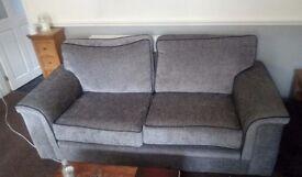 2&3 seater sofa in grey