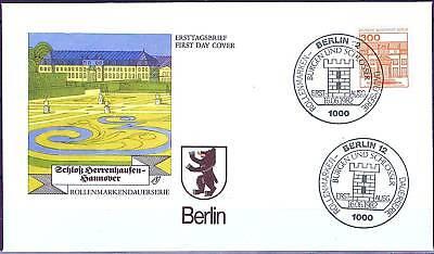 Berlin 1982: Schloß Herrenhausen! FDC Nr 677 mit Ersttags-Sonderstempeln! 1A 159