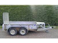 Ifor williams 2.5 tonne general duty plant trailer