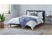 Skylar Double Bed Frame - Black