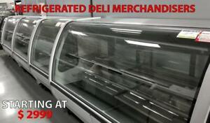 Deli Case, Fish Case, Meat Case, Open Merchandisers, Pastry Case, Grab and Go, Display Case, Amazing Prices, Deli case !