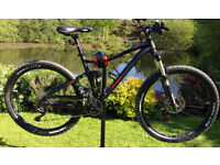 "Brand new - Merida One Twenty 7 600 Mountain Bike 18"" (M) - Full RockShox Suspension"