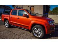 Volkswagen Amarok Canyon, Copper Orange, 12,000 Miles, 1 Owner From New, Excellent Condition