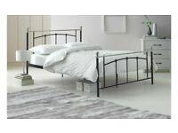 Habitat Yani Kingsize Metal Bed Frame - Black