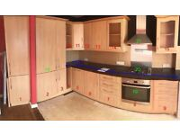 Kitchen Units plus appliances *job lot*