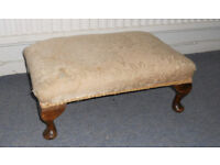 Large Foot Stool for Re Upholstery