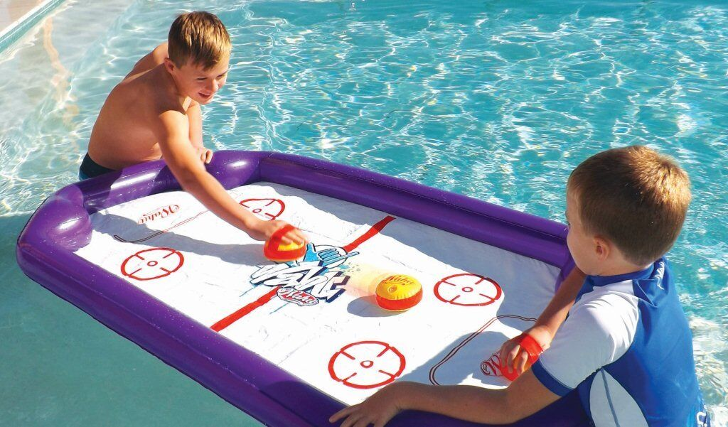 *NEW* Wahu Pool Party Aqua Hockey - Water Hockey Game ...