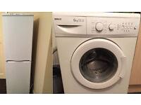 Reduced! Washing machine (BEKO) + Fridge Freezer (Hotpoint) £130 - collection only