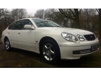 WHITE (RARE) LEXUS GS300 SE 3.0 AUTO 220 BHP MOT 05.17 15 YEARS OWNED MINT CONDITION & DRIVE