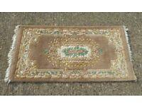 Handmade Indian rug - 100% wool