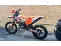 Ktm 250 exc six days 2009.
