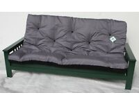 BRAND NEW, UNUSED 3 seater wood futon bed frame only. Sofabed wooden bed setee