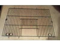 """6 × BUDGIE CAGE FRONTS EACH 18"""" × 12"""""""