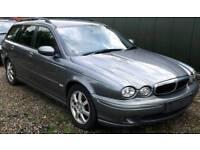 Jaguar X Type 2.0 Diesel Classic Estate full leather interior Spares/Repair