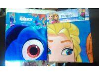 Disney cartoon towels