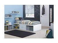 Home Freddie Cabin Bed Frame - White