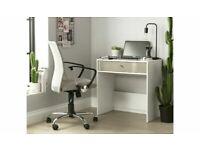 Habitat Compact Laptop Desk - White A- (5333)