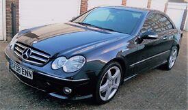 Mercedes-Benz CLK 2.1 CLK220 CDI Sport 2dr FULL SERVICE HISTORY