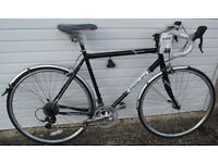 New Touring/audax/commuter Reynolds tubing/Carbon forks, Pannier Rack/Mudguards/Lights