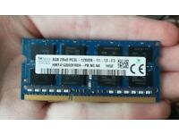 SKhynix 8GB DDR3 Laptop RAM 1600mhz