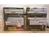 24 PlayStation 3 PS3 Games (including GTA5 / GTA 5)