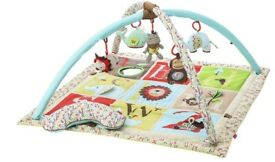 Skip Hop alphabet zoo activity gym with tummy time pillow (RRP £50)