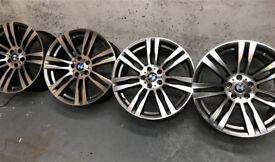 R16 R17 R18 R20 Genuine OEM BMW alloys * 5x120