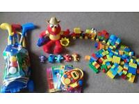 Disney mickey mouse / Elmo / Duplo toy bundle