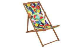 Home Wooden Deck Chair - Ipanema Fruit